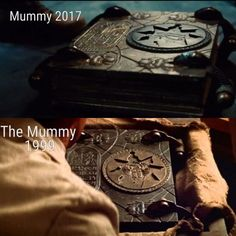 This is a hidden secret in the movie The Mummy with Tom Cruise, I don't know if anybody remember this but only real movie fans know :P btw the original from 1999 is way much better than the New one ;) #justdiscoveredtheshitoutofthisone #TheMummy2017