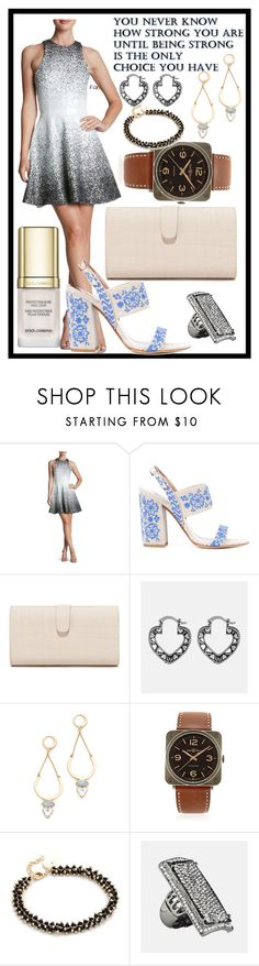 """""""Love it"""" by camry-brynn ❤ liked on Polyvore featuring Dress the Population, Tabitha Simmons, Edie Parker, Avenue, Rebecca Minkoff, Bell & Ross, Elizabeth and James and Dolce&Gabbana"""