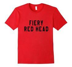 Amazon.com: Fiery Red Head Men Women Youth T-Shirt: Clothing