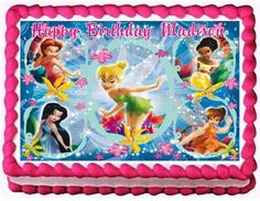 Tinkerbell Edible Frosting Sheet Cake Topper  14 Sheet * You can get additional details at the image link.(This is an Amazon affiliate link and I receive a commission for the sales)