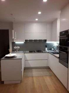 55 hot kitchen remodeling ideas the most liked 26 55 Hot Kit. - 55 hot kitchen remodeling ideas the most liked 26 55 Hot Kitchen Remodeling Ide - Grey Kitchen Interior, Kitchen Room Design, Grey Kitchens, Modern Kitchen Design, Kitchen Layout, Home Decor Kitchen, Home Kitchens, Kitchen Grey, Kitchen Living