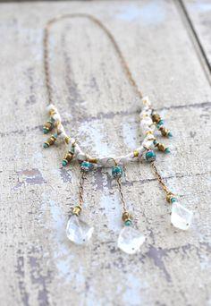 Romance Stone Necklace