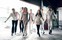 """Shadowhunters Events on Twitter: """"The #Shadowhunters cast for BELLO Magazine…"""