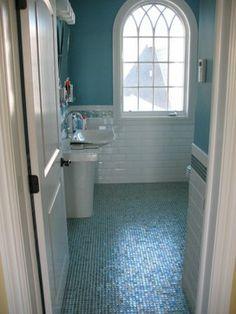 Avon by the Sea- new beach house - traditional - bathroom - new york - Degnan Design Group + Degnan Design Build  degnandesign.com