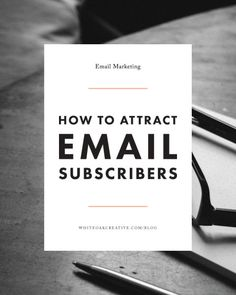How to attract email subscribers and grow your email list through different opt-in opportunities throughout your website!