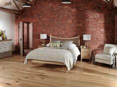 Ziegelwand Im Schlafzimmer   1001 Haus Deko Ideen