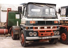 1969 ERF parked up at Brunhtill Road, after being decommissioned from service. (Photo Provided by G Milne)
