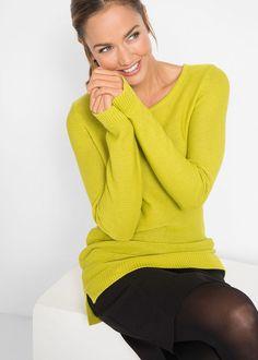 Pulóver • pisztáciazöld • bonprix áruház Sweaters, Fashion, Moda, Fashion Styles, Fasion, Sweater, Sweatshirts