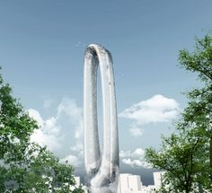 STL Architects has designed the concept behind the feet) circular building that will call Taichung City in Taiwan its home. The structure is intended to be used as a hub for leisure a Futuristic Architecture, Art And Architecture, Taiwan, Circular Buildings, Round Building, Amazing Buildings, New City, The Good Place, Skyscraper
