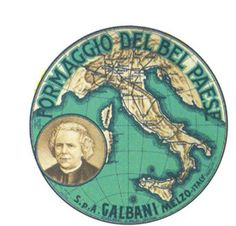 "Stoppani s bestseller ""Il Bel Paese"" (1876) was the namegiver in what turned out to be one of the first truly successful branding stories of a modern Italian product: the Bel Paese cheese from Galbani. Stoppani s portrait was printed on the packaging for years."