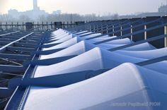 PTFE roof Stadium Lublin/Poland Cladding, Poland, Opera House, Building, Travel, Design, Buildings, Viajes, Destinations