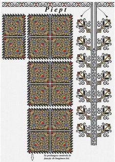 Muscel? Geometric Embroidery, Folk Embroidery, Learn Embroidery, Floral Embroidery, Embroidery Stitches, Embroidery Patterns, Cross Stitch Patterns, Palestinian Embroidery, Embroidery Techniques