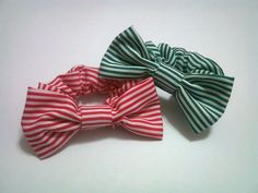 Rubber Band Hair Bow (Using Fabric)