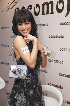 Bernice Liu with Amelia Mini Crossbody