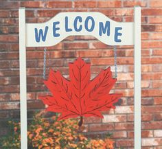 Changeable Welcome Sign Pattern