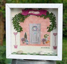 Wie zu Hause   Lorbeerkranz   DIY Homedeko   Stampin' Up! 2017/18   papiertier Indina
