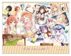 AnimeJapan 2017にて販売予定のグッズ情報を公開! -TVアニメ「ご注文はうさぎですか??」公式サイト-キャンバス生地に描かれた絵画のようなアートボードです!