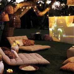 summer night outdoor movies movie theaters, under the stars, dream backyard, date nights, summer nights, outdoor theater, movie nights, summer movies, movie party