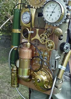 Steampunk Portable Time Machine Backpack | sundogrr | Flickr