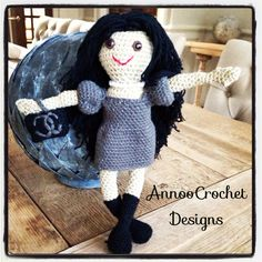 Coco Fashionista Doll By AnnooCrochet Designs