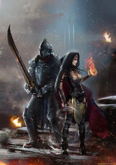 Random Fantasy/RPG artwork I find interesting,(*NOT MINE) from Tolkien to D&D. High Fantasy, Fantasy Rpg, Anime Fantasy, Medieval Fantasy, Writing Fantasy, Fantasy Fiction, Fantasy Characters, Female Characters, Warrior Girl