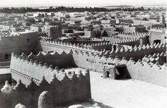 أسطح مساكن الرياض 1369 هـ /1950م