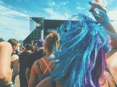 #warpedtour2016 - thanks to the random girl in front of me for having neat hair. #vsco