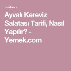Ayvalı Kereviz Salatası Tarifi, Nasıl Yapılır? - Yemek.com