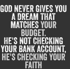 30 Quotes About Faith ( someday I shall gift this bit of wisdom to my father here on earth.) I pray he sees the beauty in it and forgives himself and accepts his mistaken thoughts about money being power. Religious Quotes, Spiritual Quotes, Positive Quotes, Great Quotes, Quotes To Live By, Leap Of Faith Quotes, Daily Quotes, Hope Quotes, Images Bible