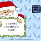 Christmas Themed: This Smart Board lesson has a game board and 12 slides. Each slide has an activity such as arranging items from longest to shortest or measuring items using non-standard units of measurement. Perfect for your measurement unit in Kindergarten or 1st grade.