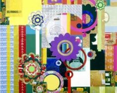 iArremate - Beatriz Milhazes, Bala de Leite - giclee - 2005 - med. 90 x 90 cm - Leilão de Dezembro
