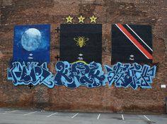 #mcfc street art photograph by sheila_blige, via Flickr Soccer Art, Cool Art, Graffiti, Street Art, Photograph, Social Media, Marketing, Inspiration, Decor