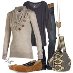 fall breeze, created by lagu on Polyvore