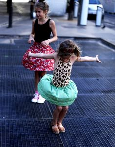 Twirls and Girls
