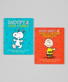 Take a look at this Charlie Brown Doodle Paperback Set by Running Press on #zulily today!