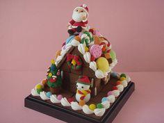 (オーダー品)クリスマスのお菓子の家