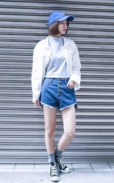 時尚穿搭:藍白一家親
