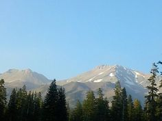 Mt. Shasta & Little Shastina California