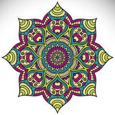 Mandala. Round Ornament Pattern. Vintage decorative elements...