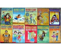 Beverly Cleary books. I read all of her books when I was a kid.
