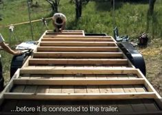 How to Frame a Tiny House on a Trailer