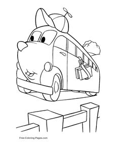 tons of free car coloring pages