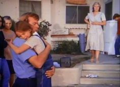 CUTE picture of roy desoto holding melissa gilbert .in his arms .hes both understanding and loving .hes so sweet .love roy desoto .love watching emergency this is my favorite scene .