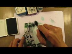 Stampscapes 101: Video 42A. Flurry. Part 1 of 3. - YouTube
