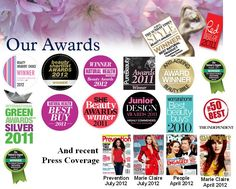 NYR Organic Beauty Awards!! Check out the produts: http://www.us.nyrorganic.com/shop/deniseagnew