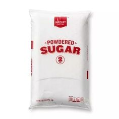 Confectioners Sugar, Powdered Sugar, Sugar Packaging, Community Coffee, Grocery Lists, Vanilla Flavoring, Key Ingredient, Product Label, Corn Starch