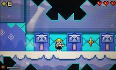 Mutant Mudds Demo Screenshot. http://www.daisyfail.com/2012/08/mutant-mudds-demo.html