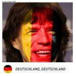 Brazilians hoped Jagger would support Germany