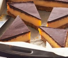 The Best-Ever Caramel Slice: This truly is the Best-Ever Caramel Slice - the thick layer of delicious caramel is sandwiched between a coconut biscuit base and lush, mouthwatering dark chocolate. http://www.bakers-corner.co.nz/recipes/slices/the-best-ever-caramel-slice/