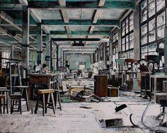 De Werkplaats, oil on canvas, - price upon request Bari, Oil On Canvas, Paintings, Artists, Paint, Painting Art, Painting, Painted Canvas, Drawings